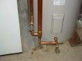 Copper Side Arm Heat Exchanger - bottom