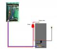 hot water heater hookup for outdoor wood burning boiler